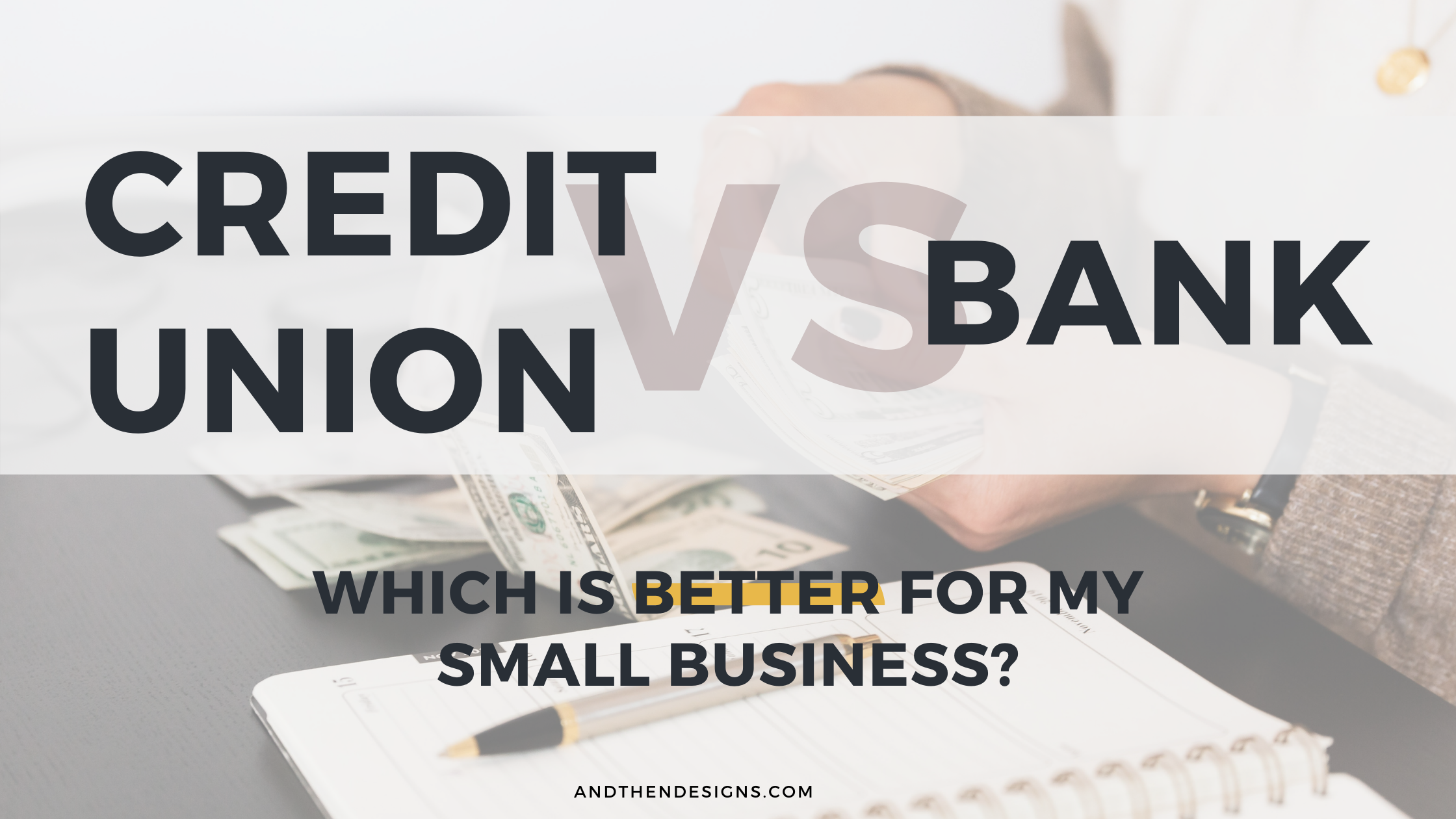 Credit Union vs Bank: Which is Better for My Small Business?